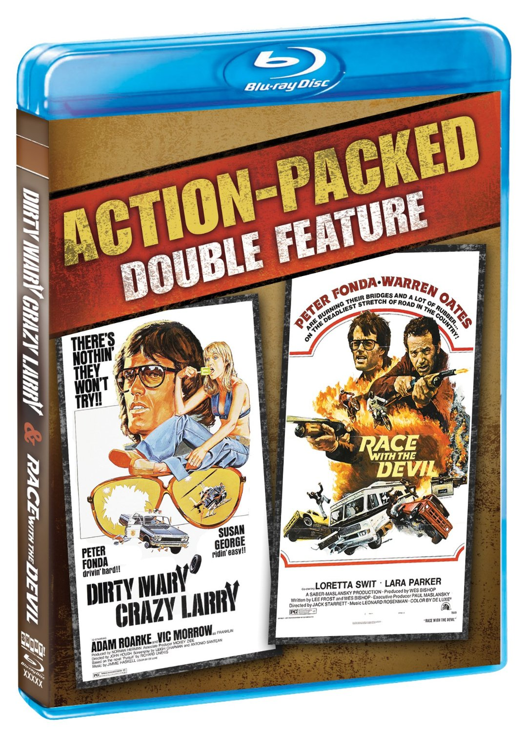 Dirty Mary Crazy Larry & Race with the Devil out now on Blu-Ray